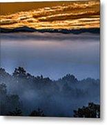 Daybreak Coming To The Smoky Mountains E150 Metal Print