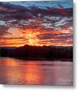 Daybreak Lake Ocoee Metal Print by Paul Herrmann