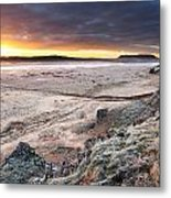 Daybreak  South West Iceland Metal Print