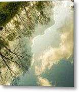 Daydreaming On The Canal Metal Print