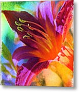 Daylily Delight Metal Print