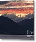 Days End On Lake Wakatipu Metal Print