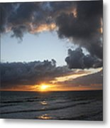 Day's End On Singer Island Metal Print