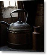 Days Of Old Metal Print by Amy Weiss
