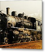 Days Of Steam And Steel Metal Print by Jeff Swan