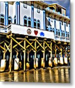 Daytona Beach Pier Metal Print