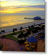 Daytona's Dawn Metal Print