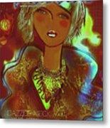 Dazzle Neck Collection Metal Print