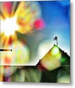 Dazzled By The Sun Metal Print