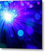 Dazzling Blue Metal Print