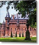De Haar Castle 3. Utrecht. Netherlands Metal Print by Jenny Rainbow