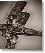 De Havilland Dh-82a Tiger Moth V5 Metal Print