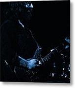 Dead #10 In Blue Metal Print