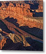 Dead Horse Point Sunrise Panorama Metal Print
