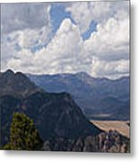 Dead Indian Panorama Metal Print