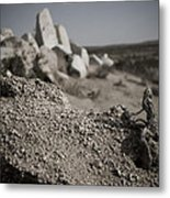 Dead Root Worshiping The Rock God  Metal Print