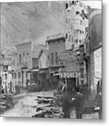 Deadwood, South Dakota Metal Print