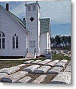 Deal Island Church Metal Print