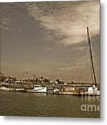 Deal Island Fishing Boats Metal Print
