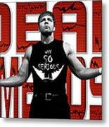 Dean Ambrose Why So Serious Metal Print