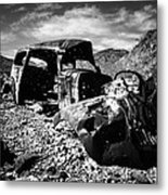 Death In The Valley Metal Print