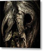 Death Mask Metal Print