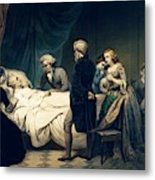 Death Of George Washington Metal Print