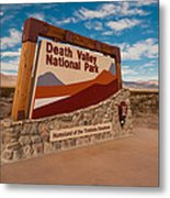 Death Valley Entry Metal Print