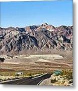 Death Valley Highway Metal Print