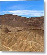 Death Valley Np Zabransky Point Ca 2 Metal Print