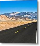 Death Valley Rd Metal Print