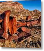 Death Valley Truck Metal Print