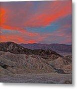 Death Valleyt Metal Print