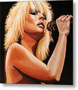 Deborah Harry Or Blondie 2 Metal Print