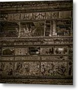 Decaying Building In Glasgow Metal Print