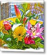 December Flowers Metal Print by Chuck Staley