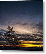 December Sunset Metal Print