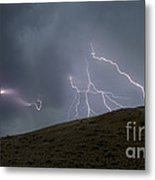 Decending Table Mountain   #8446 Metal Print