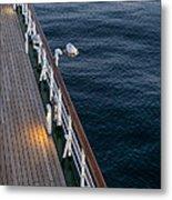 Deck Sea Metal Print