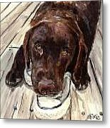 Deckhand Metal Print by Molly Poole