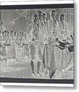 Declaration Of Independence In Negative Metal Print