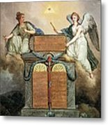 Declaration Of The Rights Of Man Metal Print by Everett