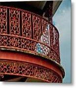Decorative Balcony Metal Print