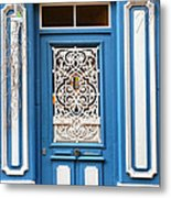 Decorative Door Metal Print