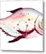 Decorative Fish Metal Print