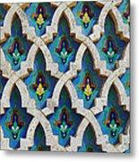 Decorative Tiles On A Mosque Metal Print
