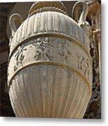 Decorative Urn - Palace Of Fine Arts Sf Metal Print