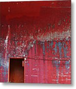 Decrepit Color Metal Print
