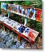 Dedicated To Our Love  Metal Print