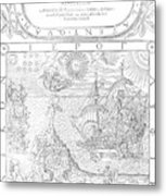 Dee Navigation, 1577 Metal Print